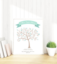 Baptism Fingerprint Tree - Christening Guest Book Personalised, Fingerprint Guest Book Ideas, fingerprint tree baby shower, fingerprint tree christening, fingerprint tree uk, birthday fingerprint tree