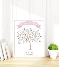Fingerprint Tree Print - Wedding Fingerprint Tree Print, Wedding Tree Guest Book Alternative, Wedding Thumbprint Tree, Wedding Fingerprint Tree Kit, Non Traditional Guest Book Ideas