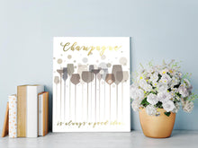 Champagne Lover Gifts, Champagne Home Decor, Champagne Wall Decor, Champagne Lover Quotes