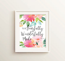 Prints - Psalm 139 4 - You Are Fearfully And Wonderfully Made