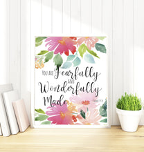 Floral Prints - Girl Nursery Decor, Nursery Decor for Girls, Floral Nursery Decor Ideas