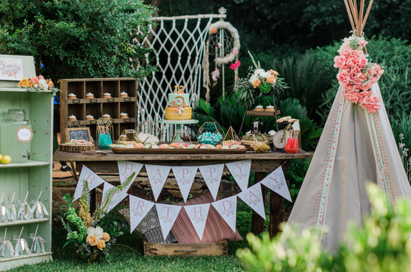 Mint by Design client styled party