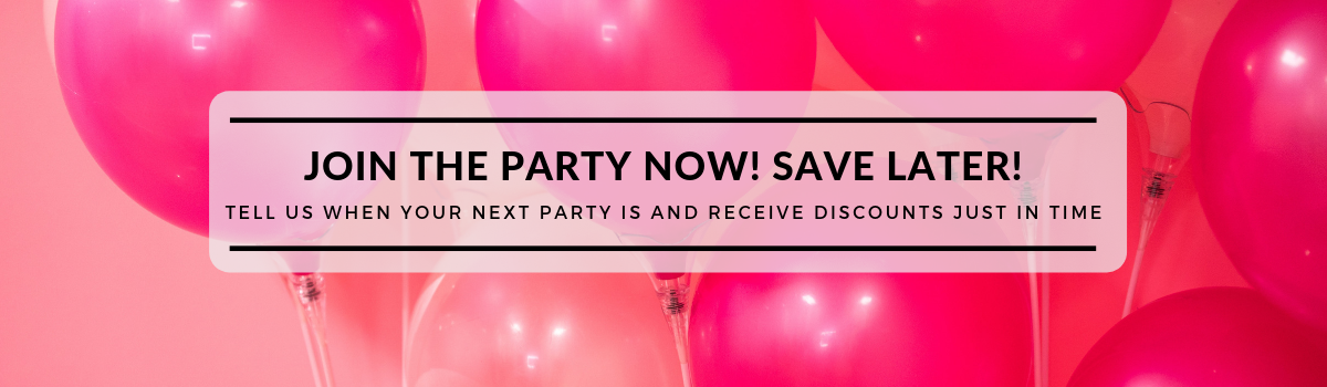 Join the Party Later  | Party Supply Discounts