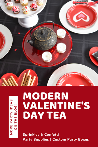 How to Host a Modern Valentine's Day Tea Party
