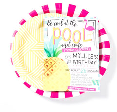 Pool Party | Pink & Yellow Summer Party supplies