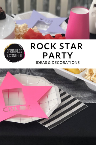 Be A Star Birthday Party