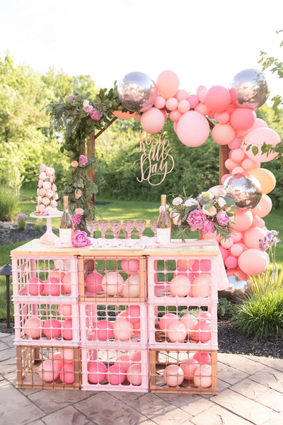 One Stylish Party | Rose all Day | black twine