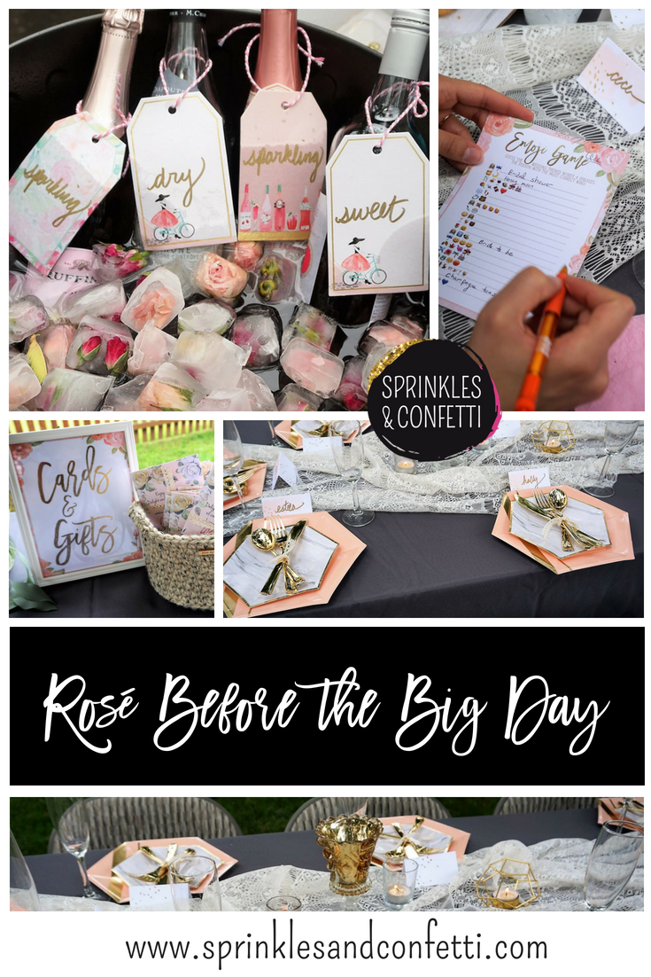 Rosé Bridal Shower with a DIY Touch