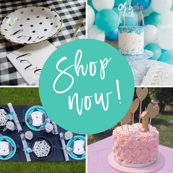 Shop Now at Sprinkles & Confetti Party Shop