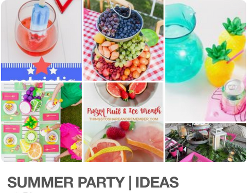Summer Party Ideas & Tips