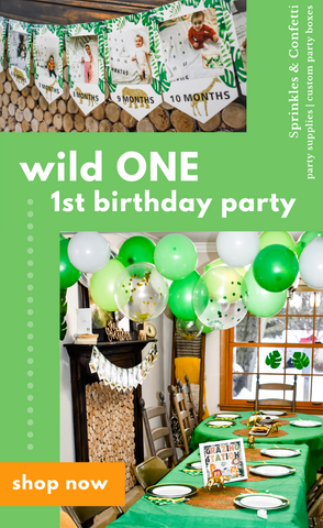 "Real Life: ""Wild One"" First Birthday Party"