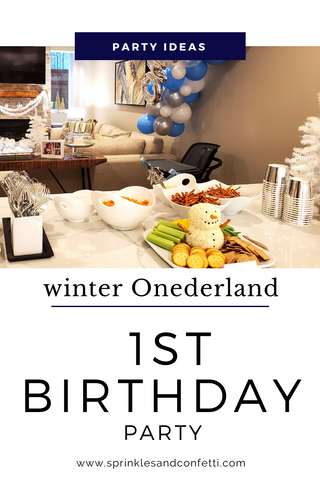 Winter ONEderland Birthday