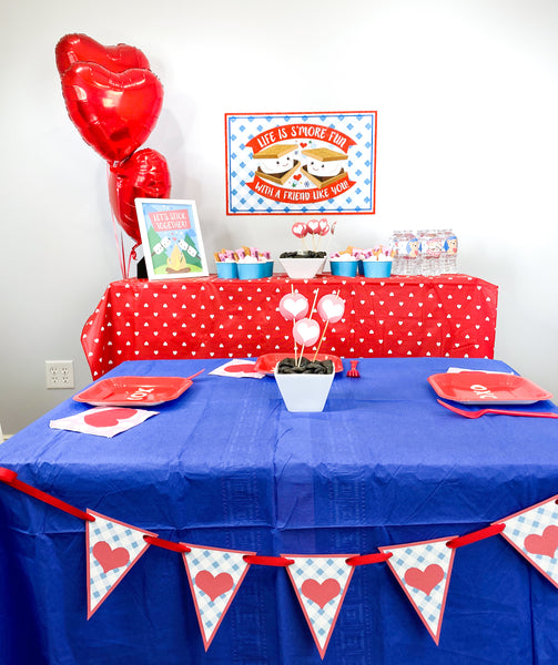 Smore's Kid Friendly Valentine's Party