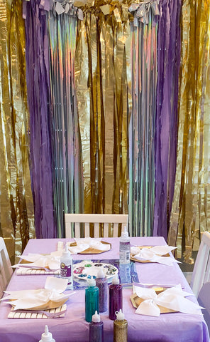 Fringe Garland backdrop