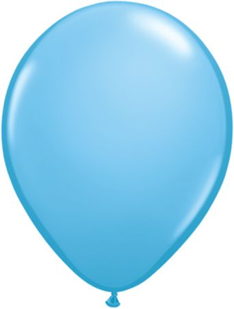 "11"" latex solid pale blue balloon"