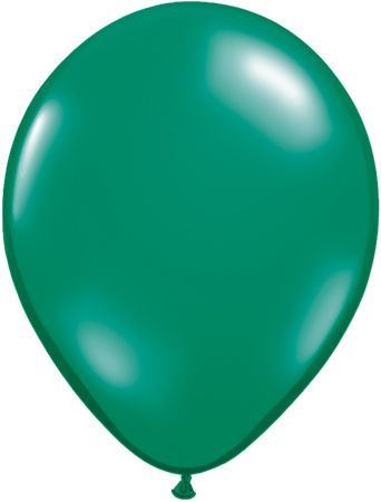 "11"" Latex Balloon Emerald Green"