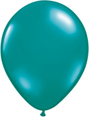 11'' Teal latex balloon