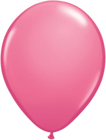"11"" Rose latex balloon"