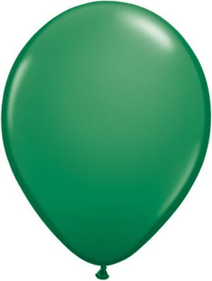 "11"" Latex Balloon Green"