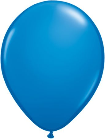 "16"" Latex Balloon Dark Blue"