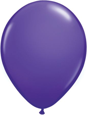"16"" Latex Violet Purple"