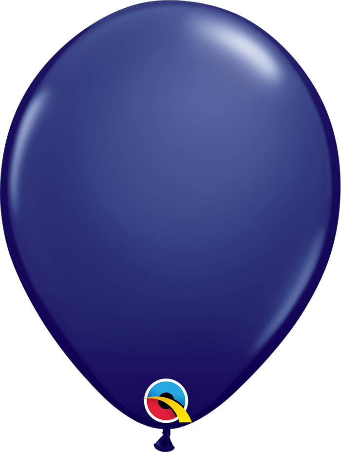 "11"" Latex Balloon Navy"
