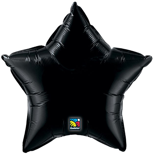 "18"" Black Star Balloon"
