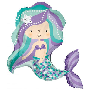 "36"" Magical Merry Mermaid Balloon"