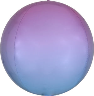 "16"" Pastel Blue Balloon Orbz"