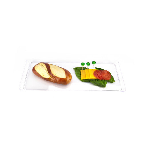CLEAR RECTANGULAR SERVING TRAY