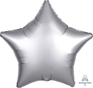 "18""-solid-satin-luxe-platinum-silver-star-balloon-unicorn-party-decorations-graduation-party"