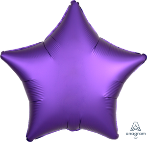 "18""-solid-satin-luxe-royale-purple-star-balloon-unicorn-party-decorations-graduation-party"