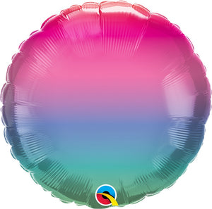 "18"" Colorful Ombre Balloon"