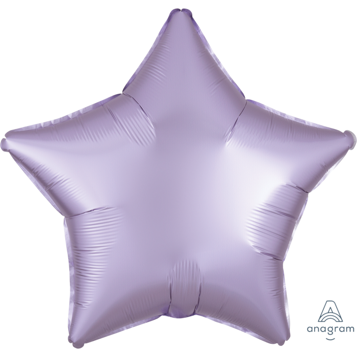 "18"" Satin Light Purple Star Balloon"