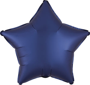 "19"" Luxe Navy Star Balloon"