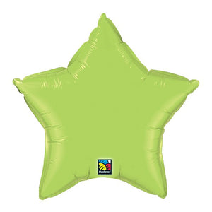 "20"" Lime Star Balloon"