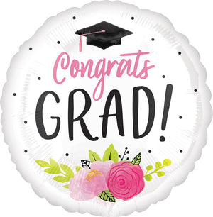"28"" Girlie Graduation Balloon"