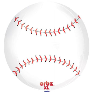 "16"" Baseball Orbz Balloon"