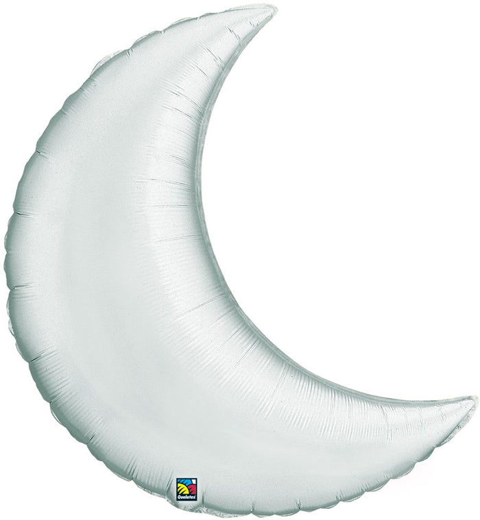 "35"" Silver Moon Balloon"