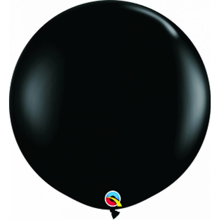 "36"" Jumbo Latex Balloon Black"