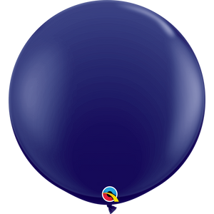 "36"" Jumbo Latex Balloon Navy"