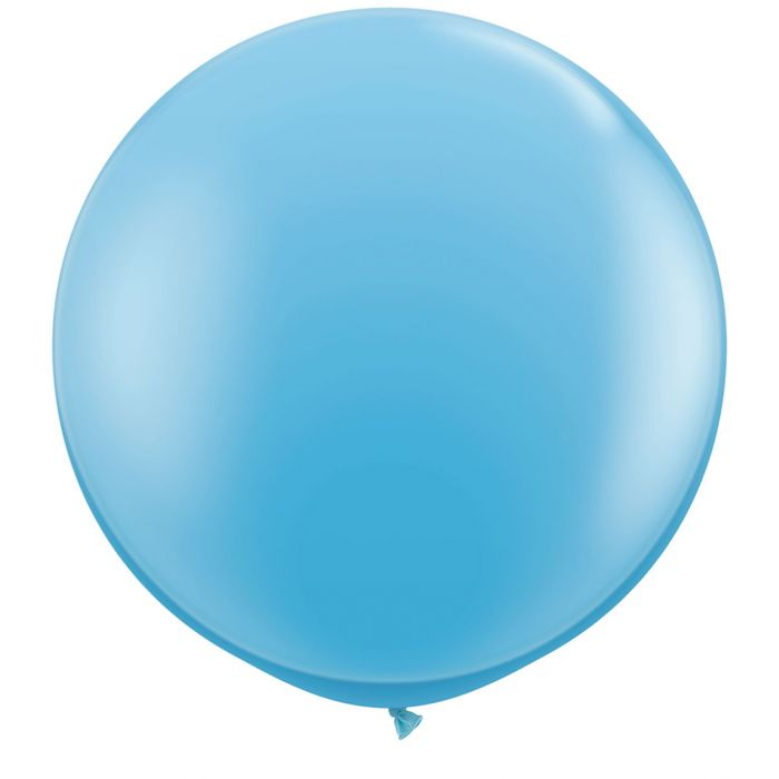 "36"" Jumbo Latex Balloon Light Blue"