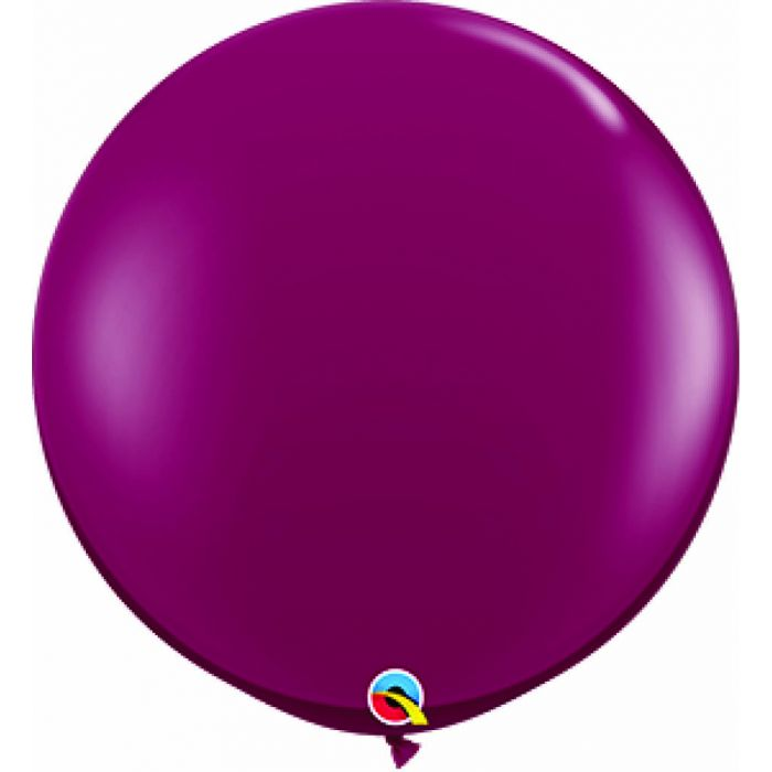 "36"" Jumbo Latex Balloon Burgundy"