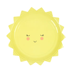Toot Sweet Sunshine Plate