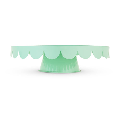 Mint Metal Cake Stand