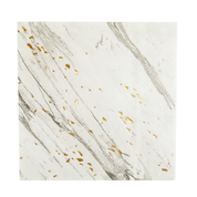 Glimmering white marble cocktail paper napkins