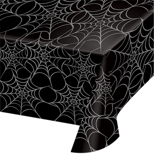 Halloween Spiderweb Tablecloth