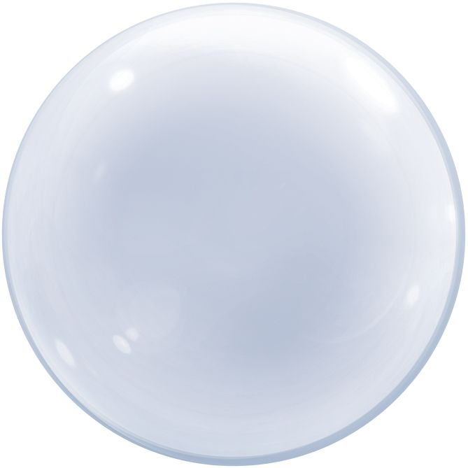 "Clear 24"" Deco Balloon Bubble"