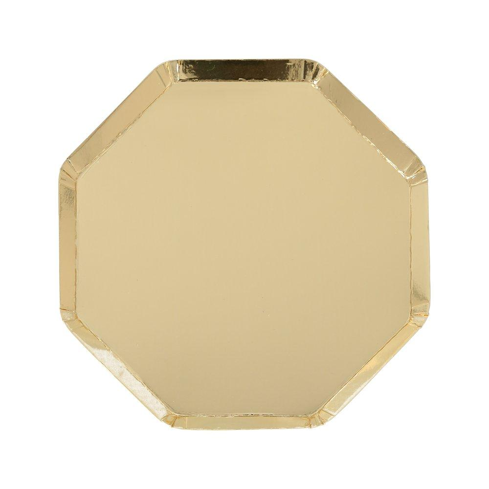 Gold Simply Solids Small Plate