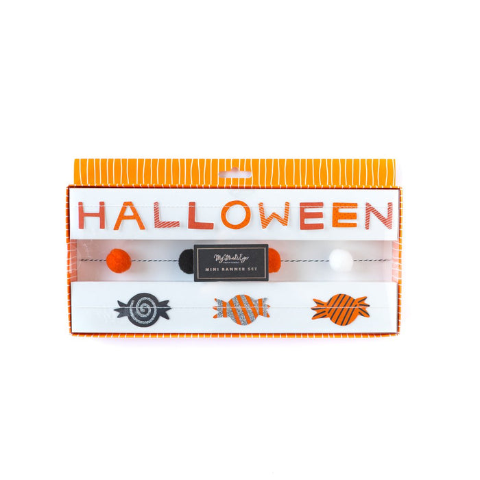 Happy Halloween Mini Banner